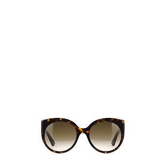 Gucci GG0325S havana female sunglasses