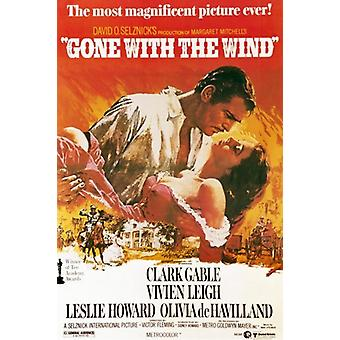 Gone with the Wind Movie Poster (11 x 17)