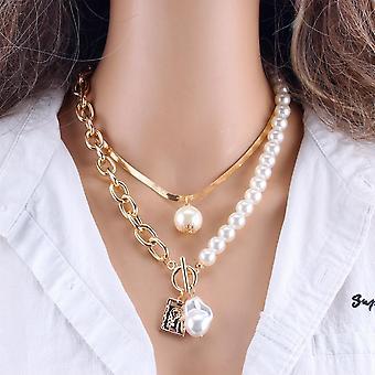 Damski naszyjnik naszyjnik biżuteria zestaw