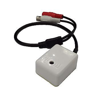 Järjestelmäkaapelin cctv-mikrofonin äänisignaalilaite
