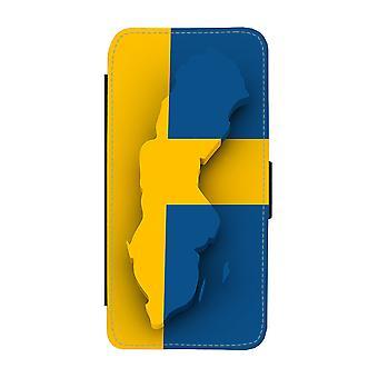 Kaart van Zweden iPhone 11 Wallet Case