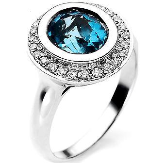 لونا خلق شعبية لون لون الحجر خاتم 1A862W856-1 - عرض حلقة: 56