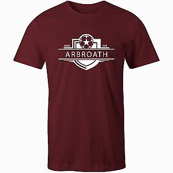 Arbroath 1878 Established Badge Football T-Shirt