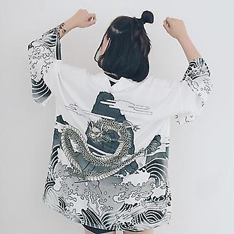 Mujer tradicional japonesa kimono