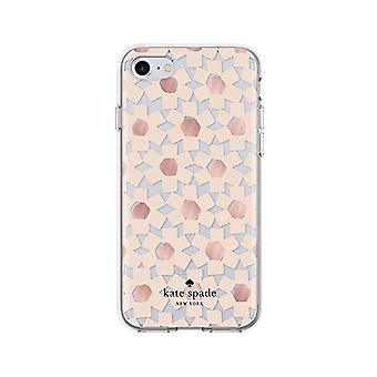 Kate Spade Flexible Hardshell Case for iPhone SE2/8/7/6 - Floral Clear