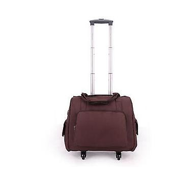 Luggage Suitcase, On-wheels Trolley Travel Bags, Spinner Suitcase