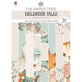 The Paper Tree - Childhood Tales Collection - A4 Insert Collection