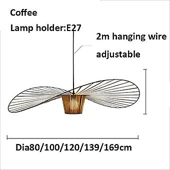 Nordic Led Vertigo Pendant Light Lustre Suspension Hanging Lamps