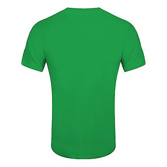 Grindstore Mens Irish Heartbeat St Patricks Day T-paita