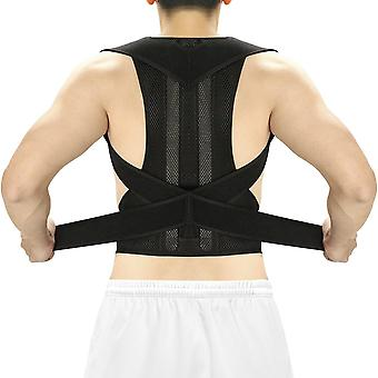 Posture Corrector Back Brace Clavicle Support Stop Slouching And Hunching