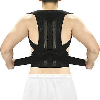 Kropsholdning corrector tilbage skinne kravebenet støtte stoppe slouching og hunching