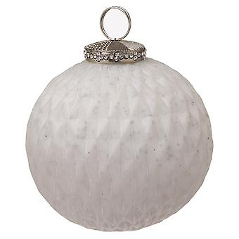 The Noel Collection Glass Matte Christmas Bauble