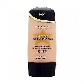 Max Factor 2 X Max Factor Lasting Performance Foundation - Natural Beige 106