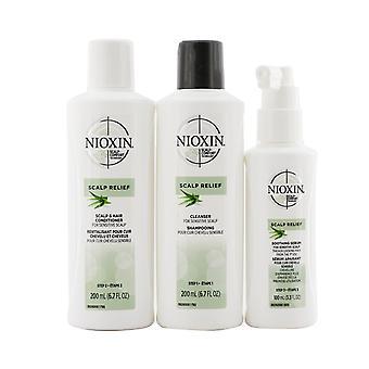Scalp relief system kit for sensitive scalp 261321 3pcs