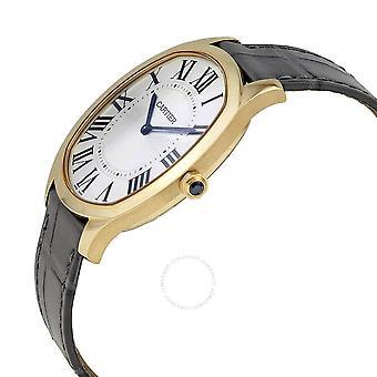 Cartier Drive Extra-Flat Hand Wind 18kt Yellow Gold Men's Watch WGNM0011