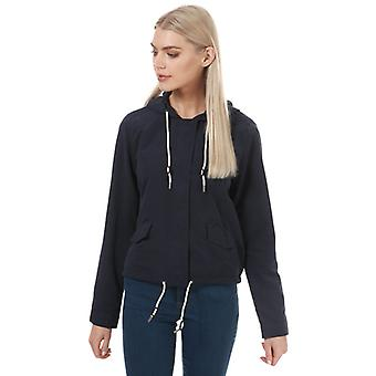 Women's Only Skylar Hooded Spring Jacket in Blue