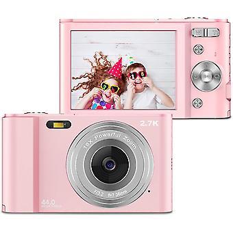 HanFei 2.7K Digitalkamera, Kamera Digital 2,88-Zoll-LCD-Akku HD 44 Megapixel 16-facher Digitalzoom,