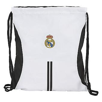 Sac à dos avec cordes Real Madrid C.F. White Black