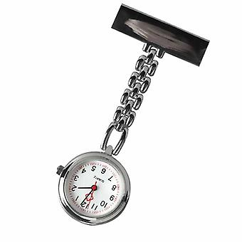 Mini Nurse Table Pocket Watch With Clip Brooch Chain Quartz Watches