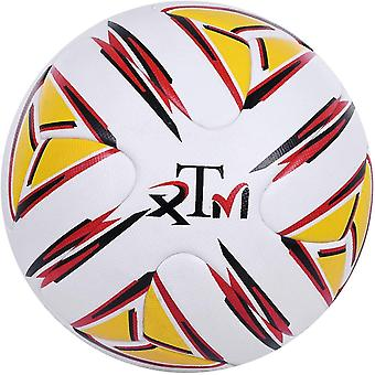 Wokex Thermisch gebundener FuballBall Gre 4 Profi Match Fuball Anti Rutsch Fuballspiel im Innen und