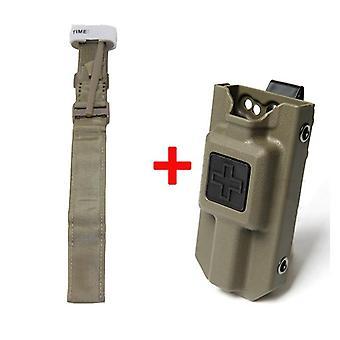 Tactical Edc Molle Tourniquet Pouch, First Aid Kit Case, Fast Hemostasis