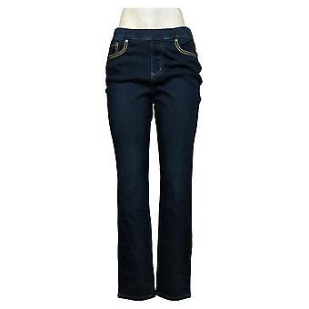 Belle By Kim Gravel Women's Jeans Flexibelle Tulip Pocket Blue A373435