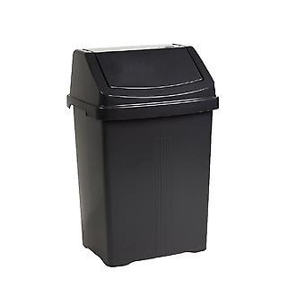 Wham storage 8 litros casa upcycled plástico swing bin