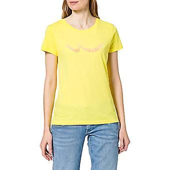 LTB Jeans Tilobe T-Shirt, Blazing Yellow. 3644, XL Woman