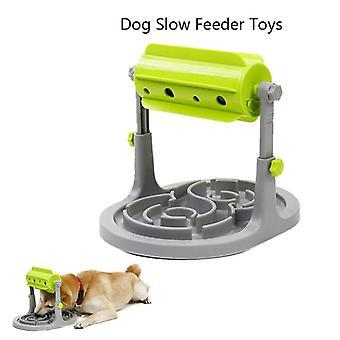 Τρόφιμα επεξεργασμένα σκυλιά παιχνίδια τροφοδότης εκπαιδευτικό σκυλί διαδραστικό anti choke πιο αργή τροφοδότη μπολ| Παιχνίδια σκυλιών