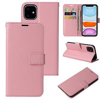 Flip folio leather case for samsung s10 lite pink pns-3565