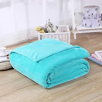 Blanket Swaddling Coral Single Thick Winter Cover