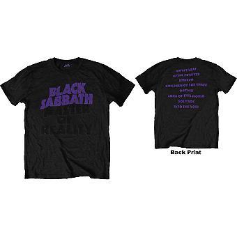 Black Sabbath - Masters of Reality Album Unisex Medium T-Shirt - Black