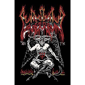 Watain - Poster tessile Baphomet