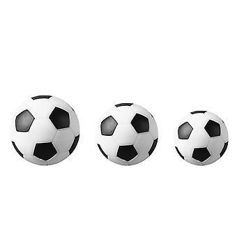 4 pezzi/set White Resin Soccer Standard Table Football