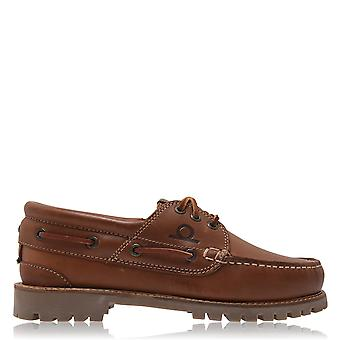 Chatham Mens Sperrin Boat Shoes Flat Slip On Casual Everyday Footwear