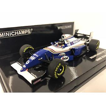 Minichamps 417940400 Williams Renault FW16B Damon Hill Winner Spa 1994