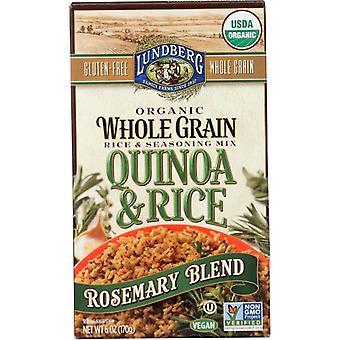 Lundberg Rice Brwn Quinoa Rsmary, Case of 6 X 6 Oz