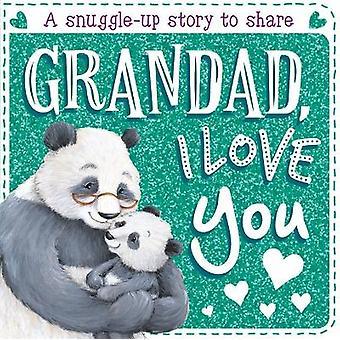 Grandad I Love You Board Book Sparkles