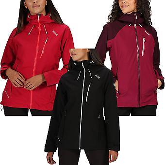 Regaty Damskie Birchdale Wodoodporna kurtka outdoorowa z kapturem