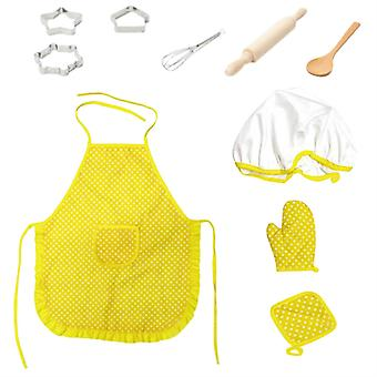Apron And Chef Hat Set For Child