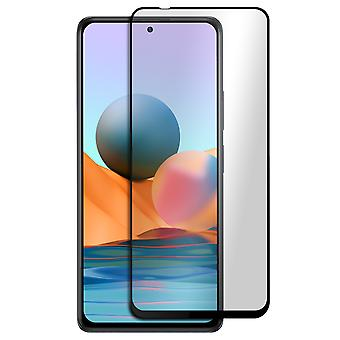 Xiaomi Redmi Note 10 Pro 9H Tempered Glass Akashi Clear  black  Outline