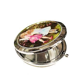 Garden Fairies Compact Mirror - Gift Item