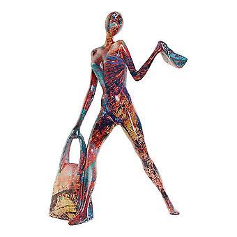 Sierfiguur DKD Home Decor Harts Woman (18 x 10 x 27 cm)