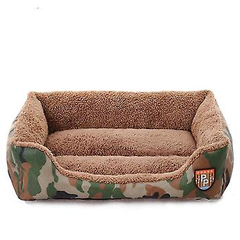 New autumn and winter pet nest, jungle camouflage nest, cat and dog sofa bed pet room, special for