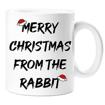 Merry Christmas From The Rabbit Mug