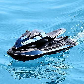 دراجات نارية التحكم عن بعد 2.4G سباق قارب jjrc s9 1:14 التحكم عن بعد المزدوج موتور ergonomic تصميم الدراجات النارية الزرقاء