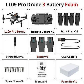 L109 pro gps Drohne 5g wifi 800m fpv mit 4k hd Kamera 2-a & xis Anti-Shake selbststabilisierend