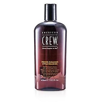 American Crew Men Power Cleanser Style Remover Daily Shampoo (for All Types Of Hair) - 450ml/15.2oz