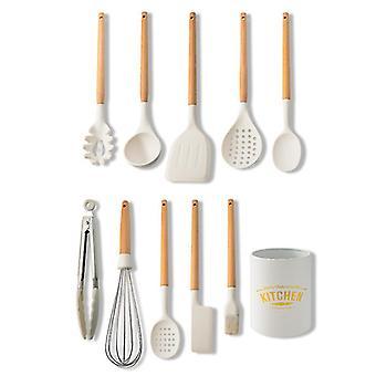 Kitchen Utensils Set Silicone Cookware Heat-resistant Kitchen Cookware