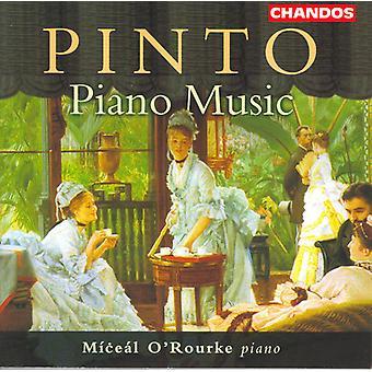 G.F. Pinto - Pinto: Importation de musique Piano [CD] USA